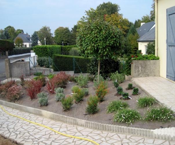 Patios terrasses et petits jardins nissaflor paysagiste interieur nantes depuis 1954 for Jardins et terrasses photos